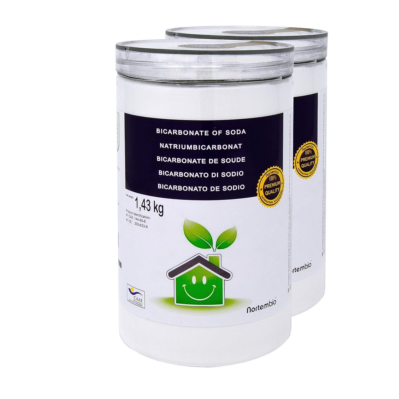 Natron NortemBio 1.43 Kg; 2x1.43 Kg; 4x1.43 Kg. Premium Natriumhydrogencarbonat in Pharmazeutischer Qualität. Ökologischer Input aus natürlichem Ursprung. Natriumbicarbonat. Aluminiumfrei. CE – Produkt. Nortem Biotechnology