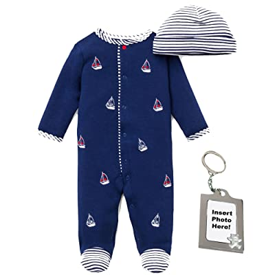 d74687473 Little Me Preemie Newborn Baby Footie Sleep and Play Pajamas Footed Sleeper  Hat for Boys and Girls