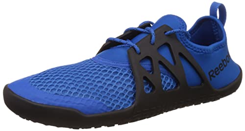 5192b07532a Image Unavailable. Image not available for. Colour  Reebok Men s Aqua Grip  Tr Blue Sport and Black Water Shoes ...