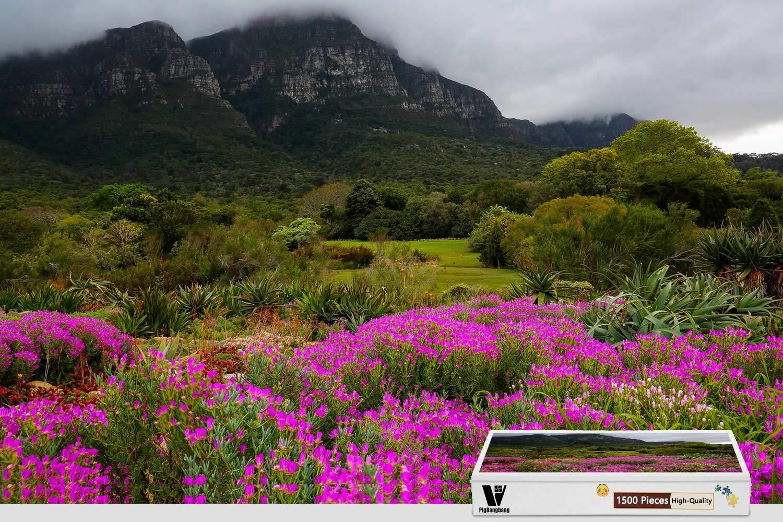 【在庫あり】 PigBangbang 34.4 X 22.6インチ 難易パズル プレミアムバスウッド – 庭 庭 南アフリカ山 B07HF7PN67 34.4 – 1500ピースジグソーパズル B07HF7PN67, オオハサママチ:4f89a555 --- a0267596.xsph.ru