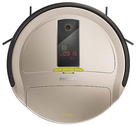 Philips FC9910 HomeRun Robot aspirador, 3 MB/s, 0.6 L, Gris,