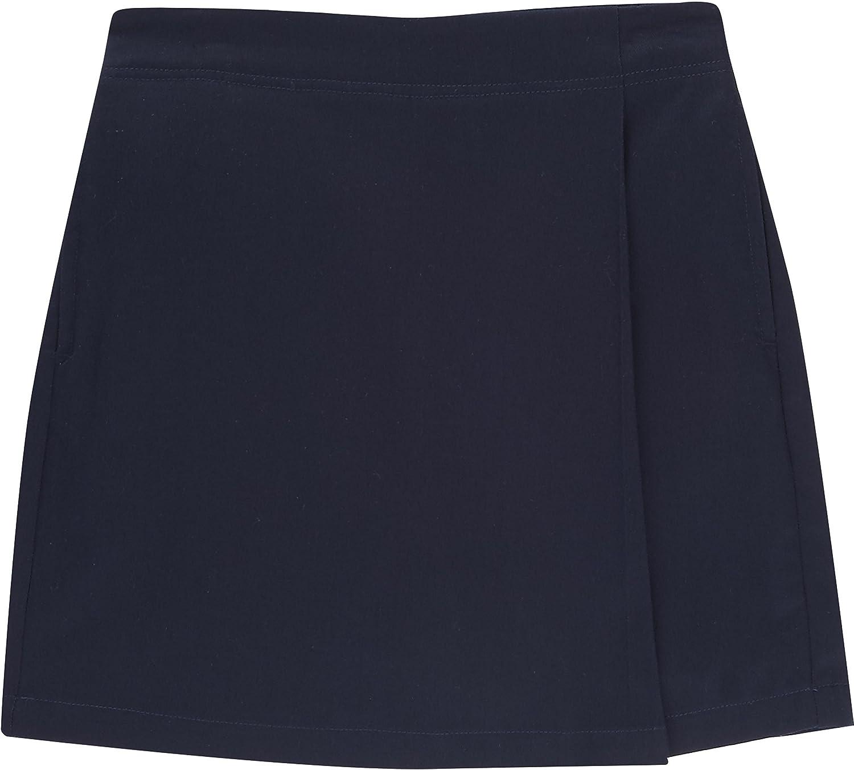 French Toast School Uniform Girls Pull-On Pleat Skort Navy 18