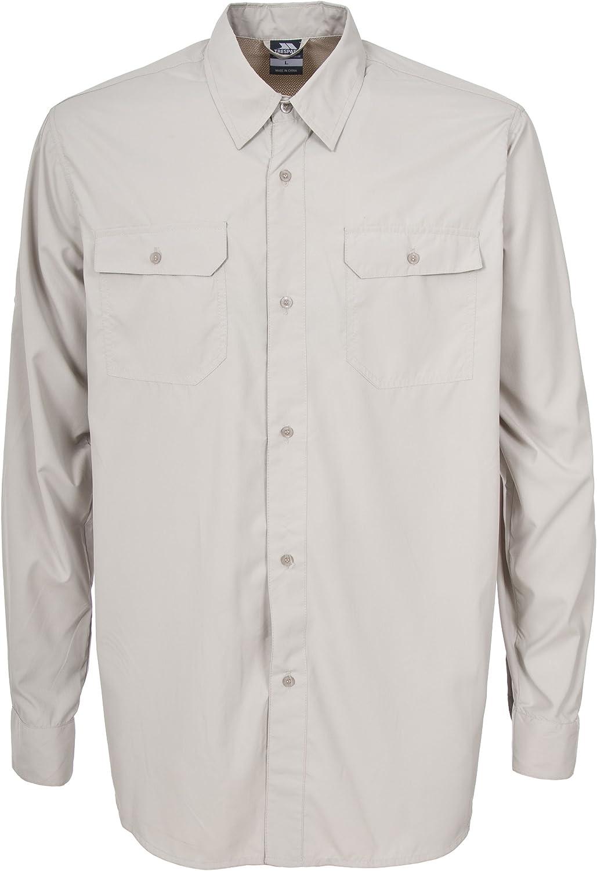 Trespass Solve - Camiseta de Atletismo para Hombre, Color marrón, Talla XS: Amazon.es: Ropa y accesorios