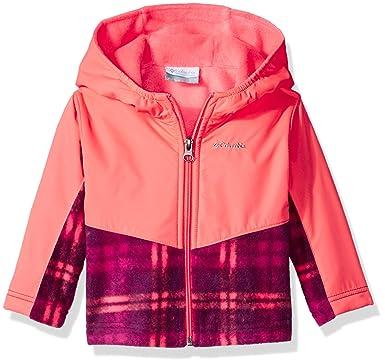 9ccc5e492 Amazon.com  Columbia Baby Girls  Steens MT Overlay Hoodie  Clothing