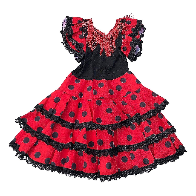 La Senorita Ropa Flamenco Niño Lujo Español Traje de Flamenca ...
