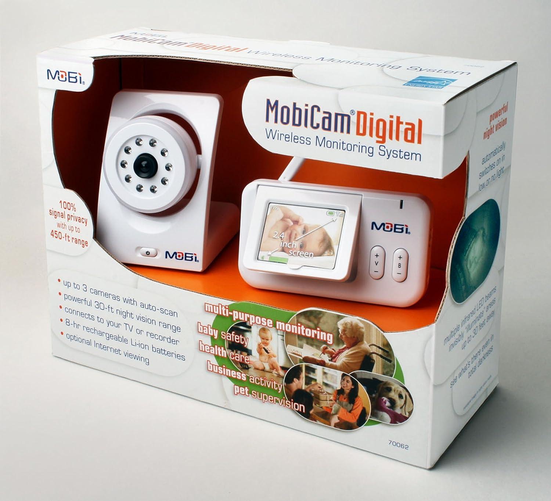 Audio Video Baby Monitor Wireless Alarm IP Camera Night Vision Safety Viewer