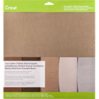 Cricut Pebbled Faux Leather, Neutral Sampler