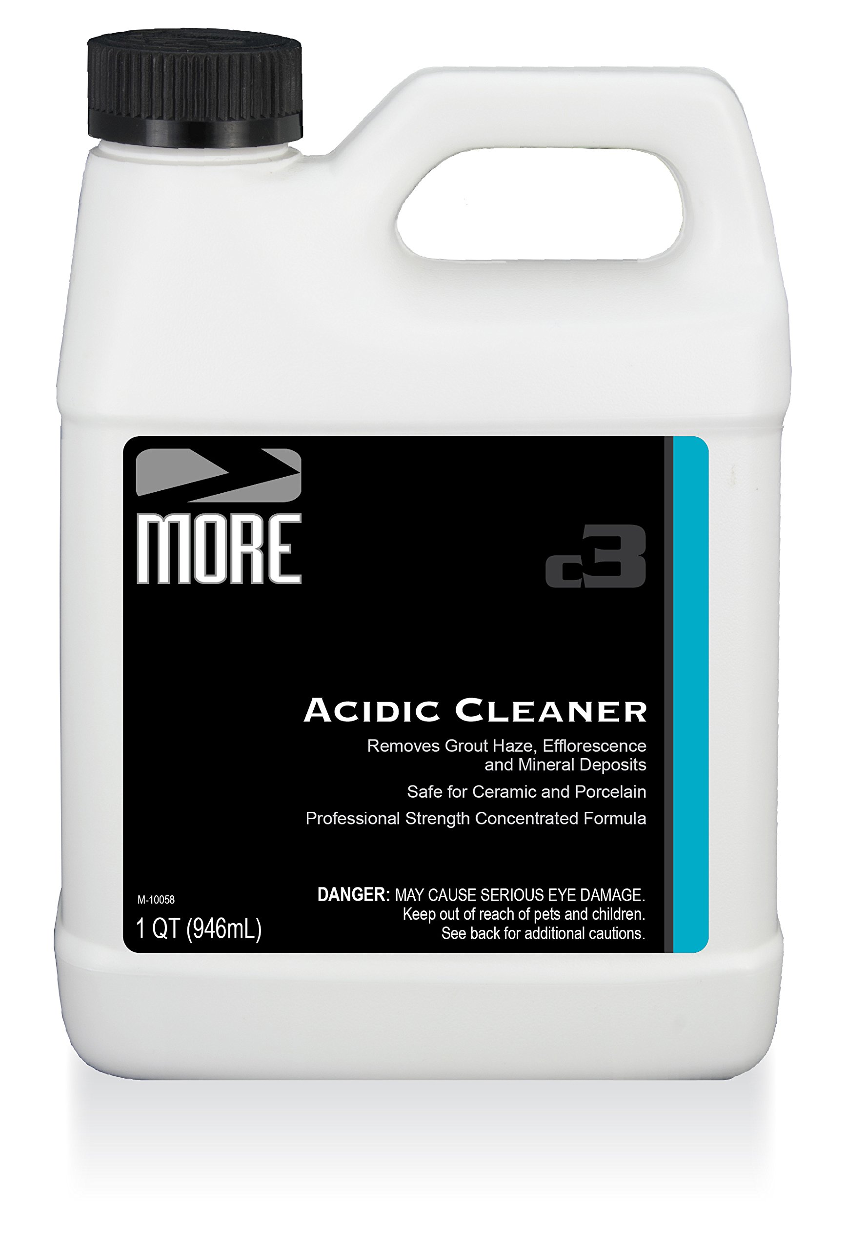 MORE Acidic Cleaner - Concentrated for Cleaning and Restoring Natural Stone - [Quart / 32 oz.]