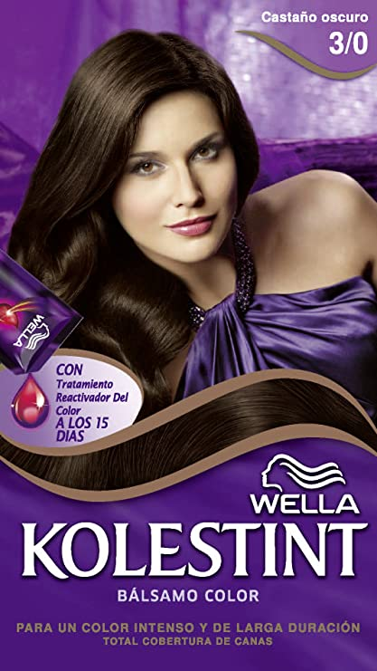 Kolesint Bálsamo color Castaño oscuro 3/0 - [paquete de 3 ...
