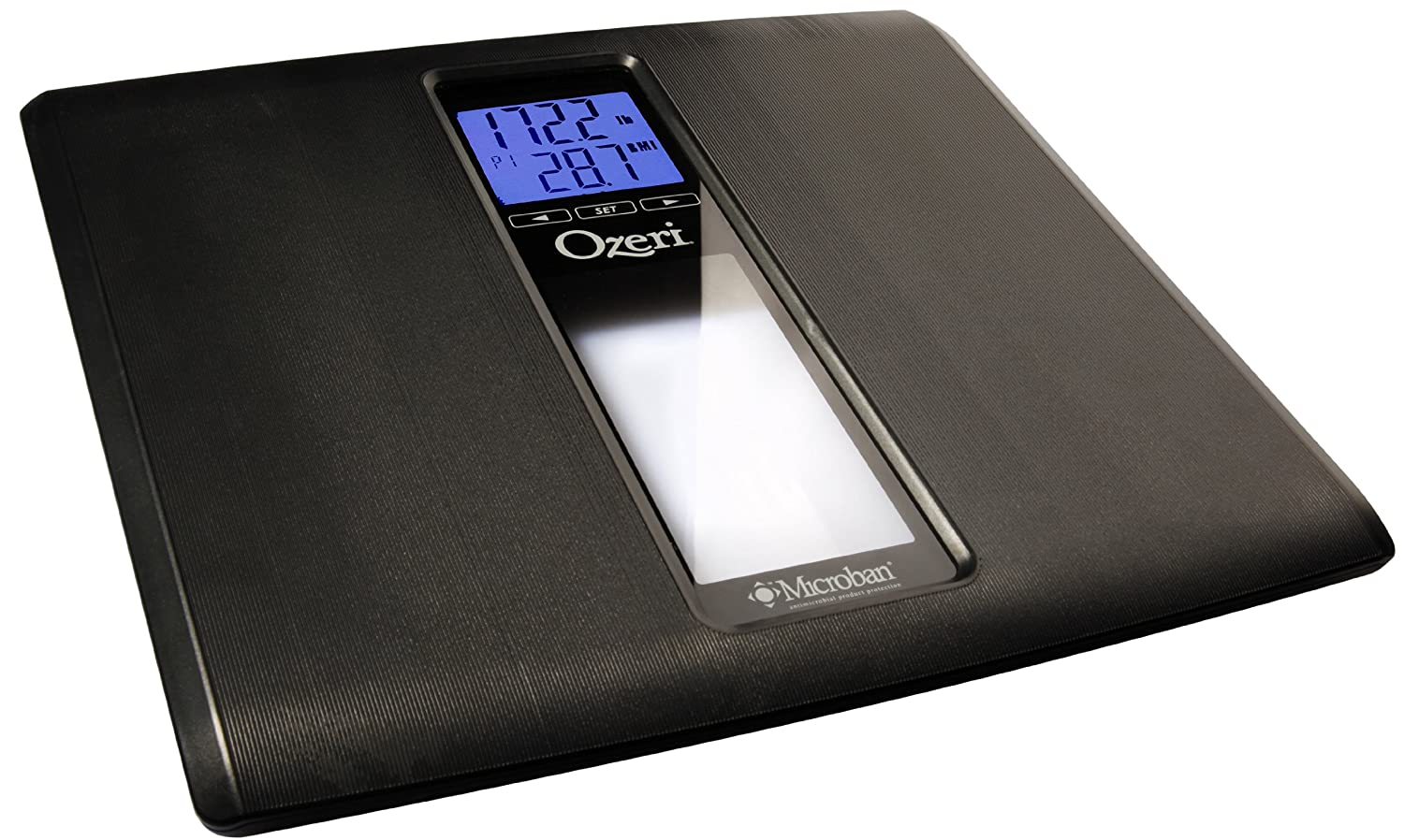 Amazon scale bathroom - Amazon Com Ozeri Zb20 Weightmaster Ii 440 Lbs Digital Bath Scale With Bmi And Weight Change Detection Black Health Personal Care