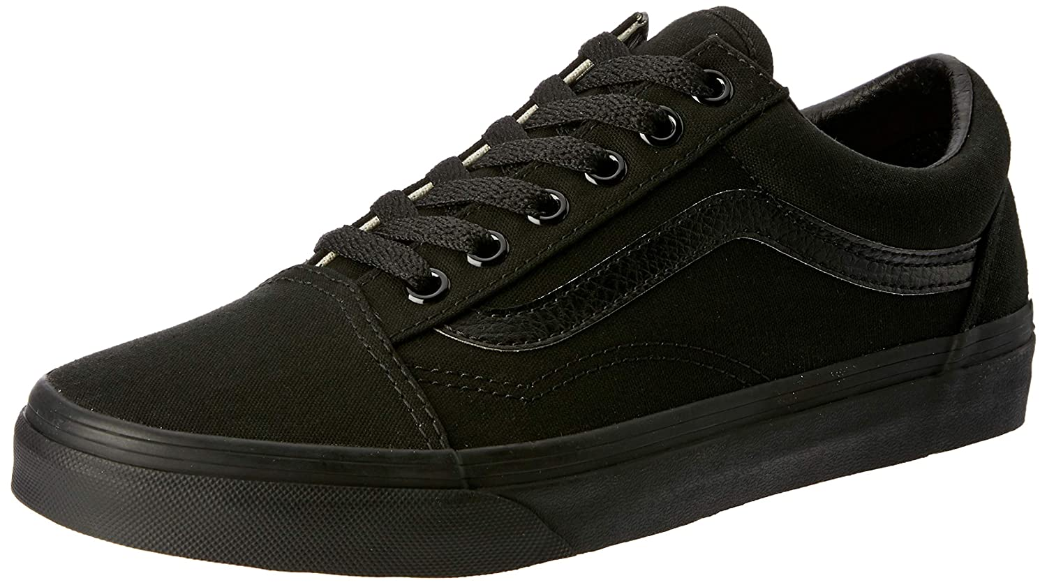 Noir Noir Vans UA Old Skool, baskets Basses Homme 3 UK
