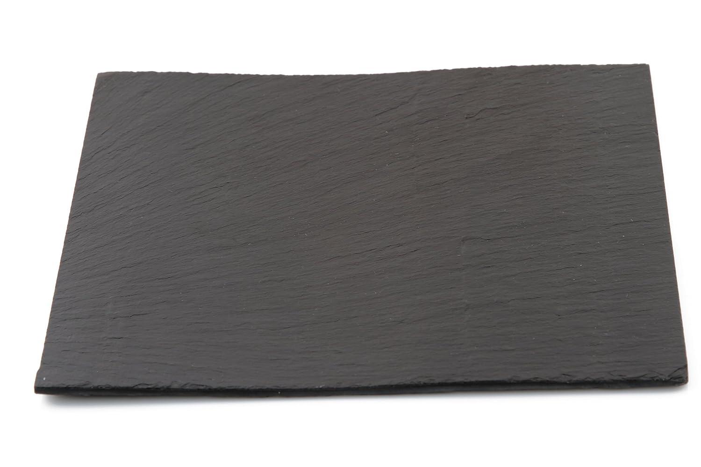 Jocca Set de 2 Platos de Pizarra, Piedra, Negro, 30.5 cm, 2 ...