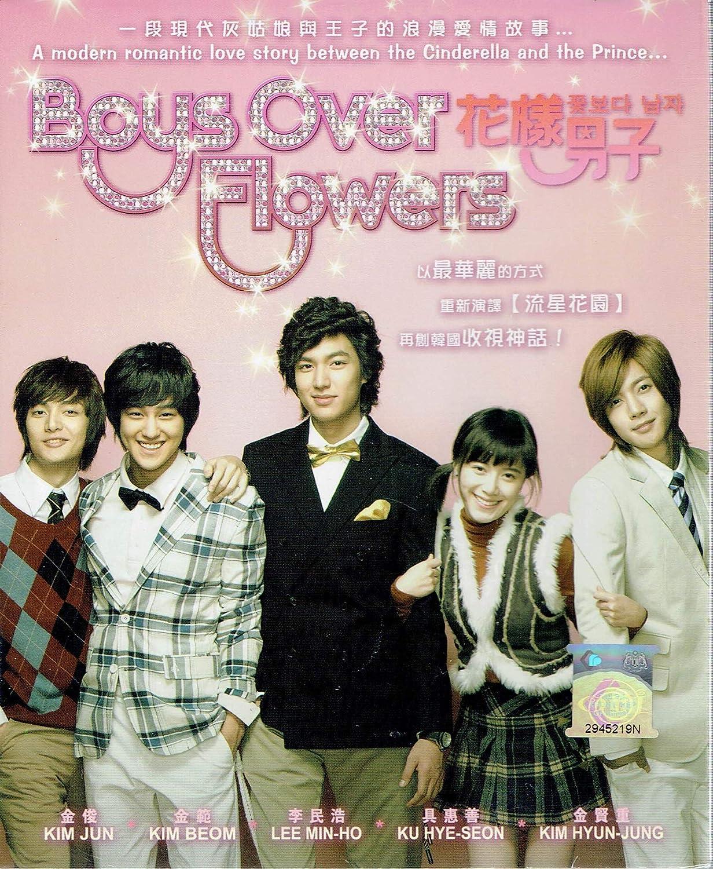 BOYS OVER FLOWER - COMPLETE TV SERIES (KOREAN TV SERIES, 1-25 EPISODES, ENGLISH SUBTITLES, ALL REGION)