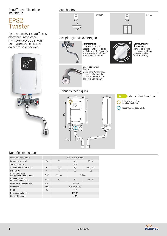 Calentador de agua electrico star jet