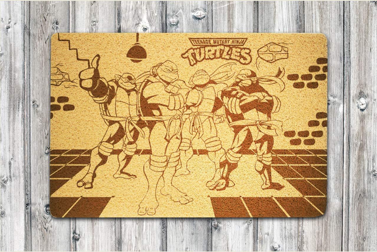 StarlingShop Ninja Turtles - Felpudo para Puerta, diseño de ...