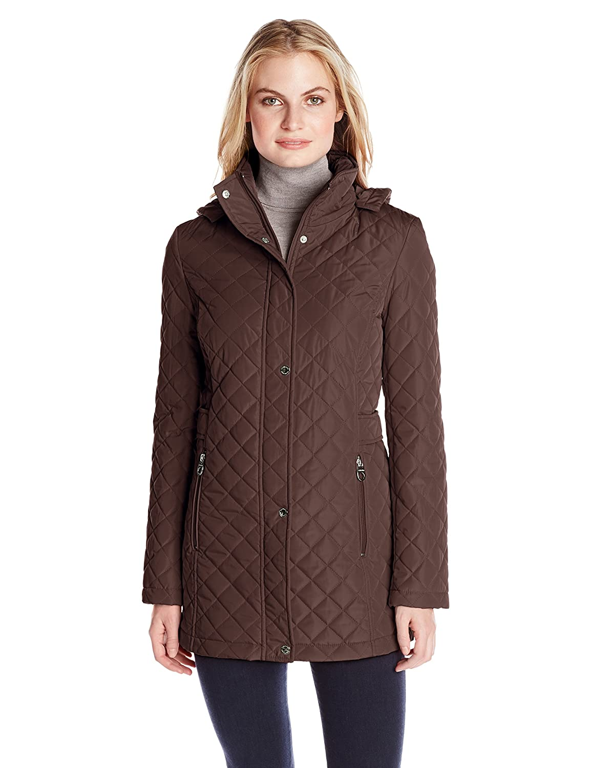 Womens Quilted Lightweight Jackets | Amazon.com : black quilted ladies jacket - Adamdwight.com