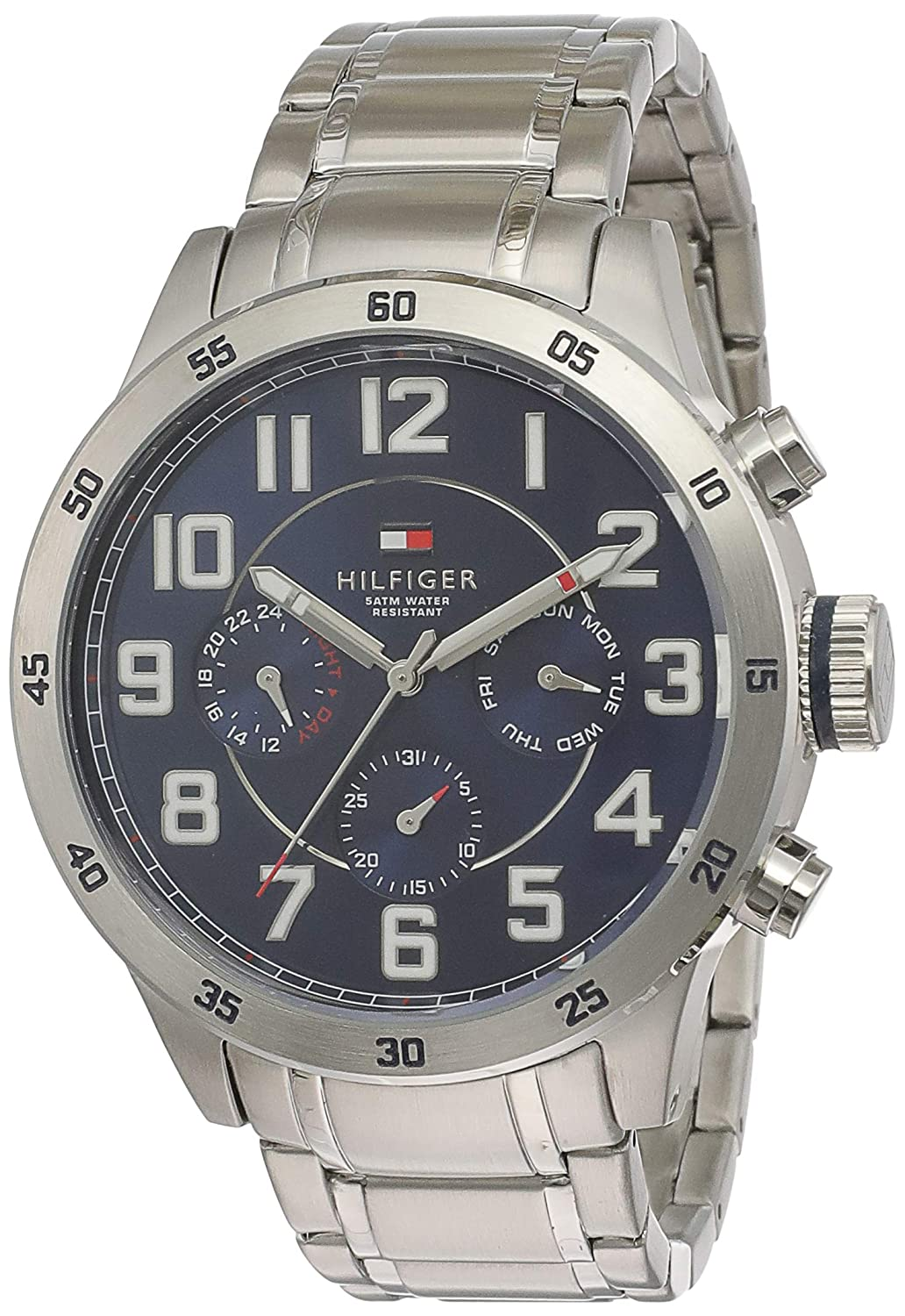 Buy Tommy Hilfiger Analog Blue Dial Men S Watch Nath1791053