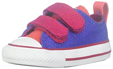 4dd40b423fa3 Converse Kids Girls  Chuck Taylor All Star 2V Ox (Infant Toddler)