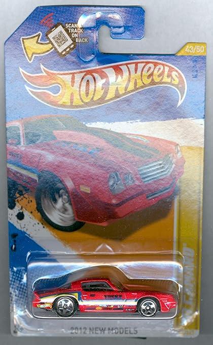 2012 HOT WHEELS ~ RED ~ /'81 CAMARO ~ NEW MODELS ~ Card 43//247