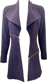 product image for Eva Varro Barcelona Long Jacket Navy Pebbles XS-3X