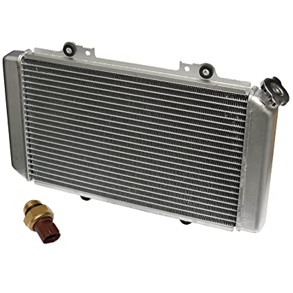 Yamaha Grizzly 660 >> Caltric Radiator Fit Yamaha Grizzly 660 Yfm660f Hunter Yfm 660f 2002 2005 2007 2008 Heat Sensor