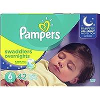 Pampers Overnight Pañales Etapa 6, 42 Piezas