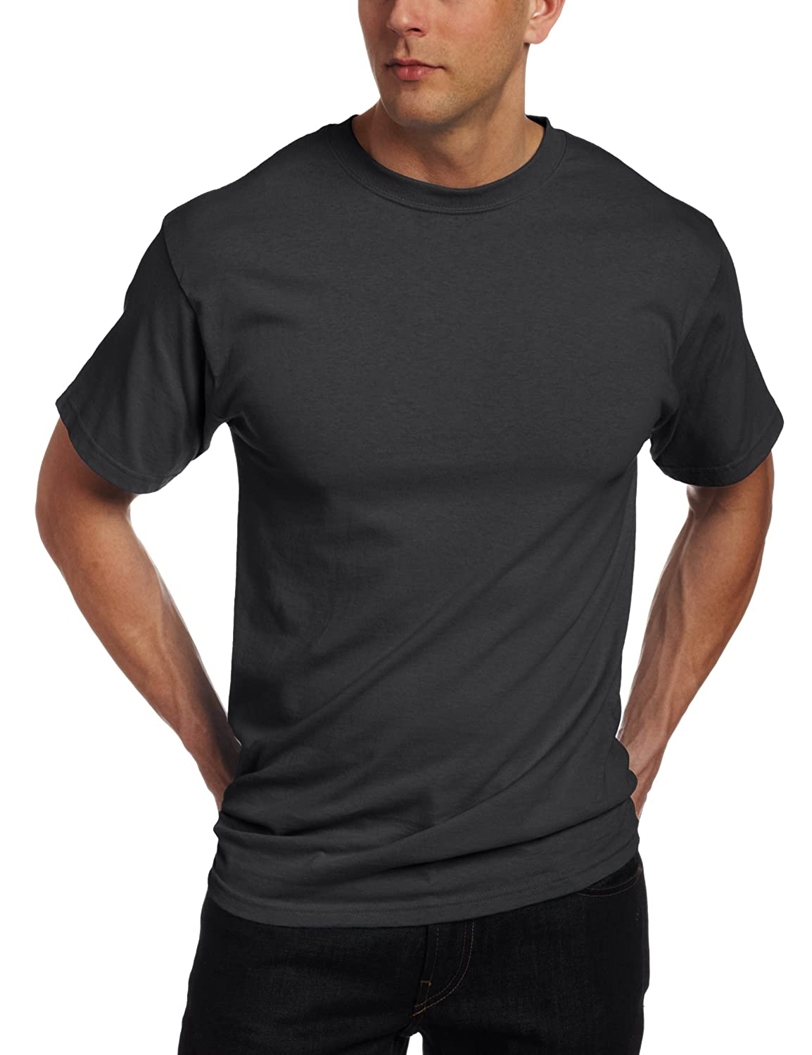 851cc2087 Amazon.com: Soffe Men's Classic Cotton T-Shirt: Clothing