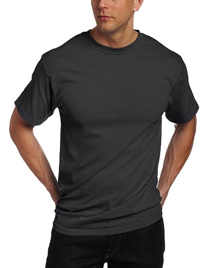 db58e41b1 Soffe Men's Classic 100% Cotton Short Sleeve T-Shirt Black Small