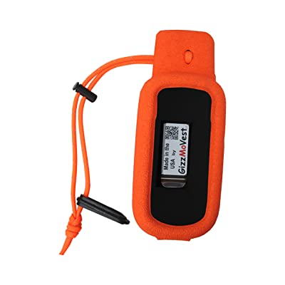Orange Gizzmo Vest for Garmin Alpha 100 Handheld - Made in the USA: Sports & Outdoors