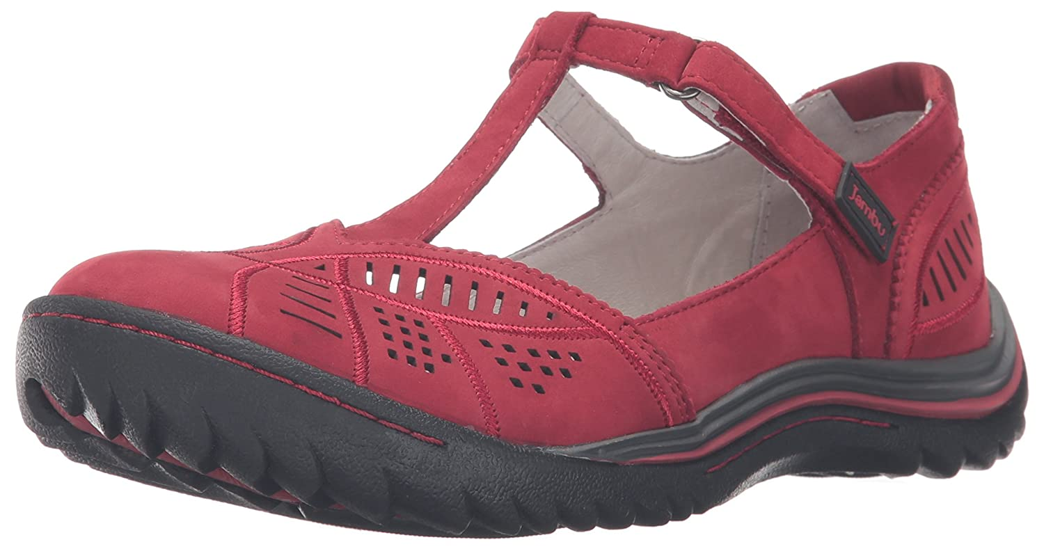 Jambu Women's Bridget Flat B019SBWSA6 9.5 B(M) US|Red