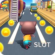 Talking Cat Racing Slot - Mega Party Casino Jackpot Slot Adventure 12 In 1