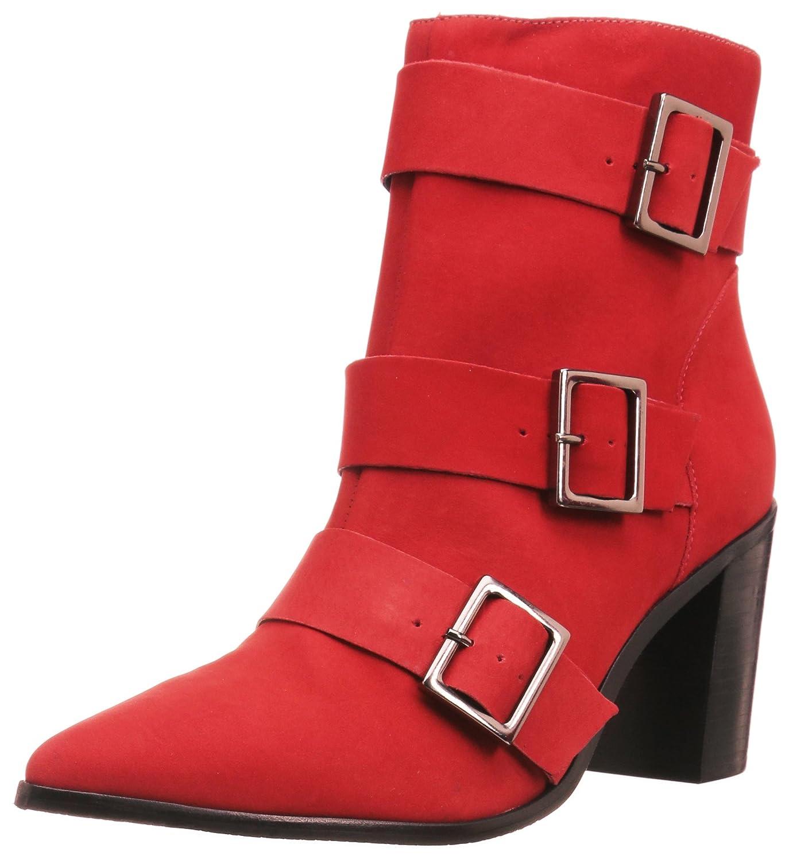 SCHUTZ Women's Bonna Ankle Boot B072BMLQ1W 8 B(M) US|Scarlet