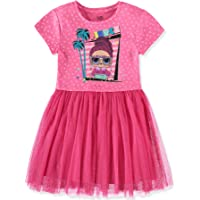 L.O.L. Surprise! Girls Short Sleeve Glitter Tulle Tutu Dress