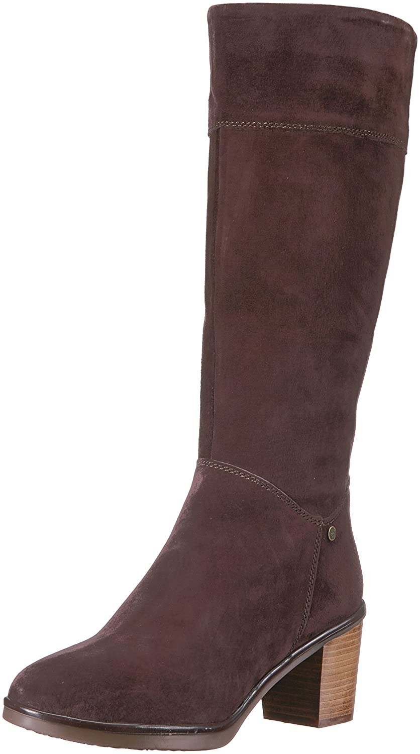 Hush Puppies Women's Saun Olivya Boot B01MZFB5BZ 8.5 W US|Dark Brown