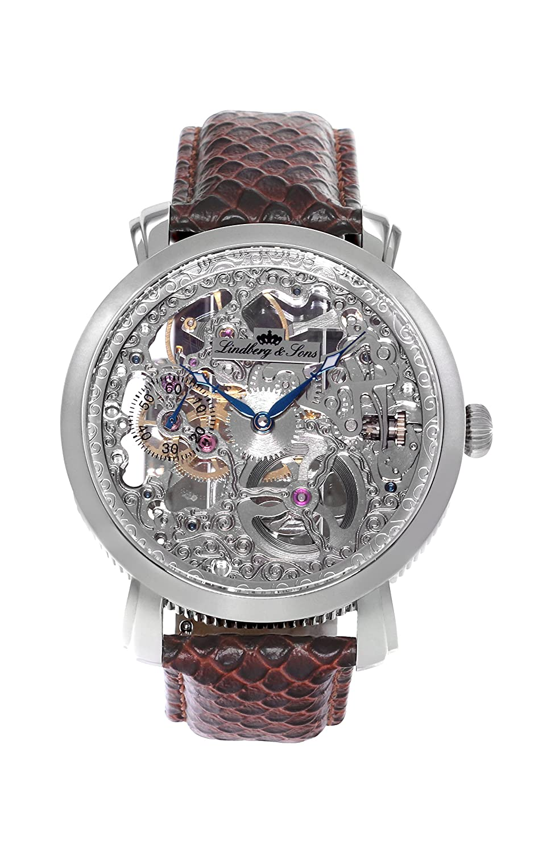 Lindberg & Sons Reloj analógico para Hombre de automático con Correa en Piel SK14H063