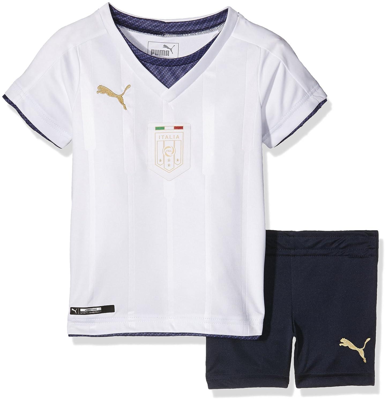 Puma Equipación de fútbol Unisex para bebé, diseño de la Federación Italiana de Fútbol: Amazon.es: Deportes y aire libre