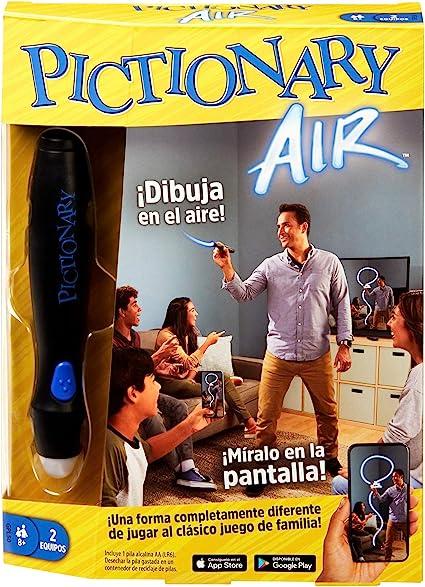 Mattel Games- Pictionary Air, Juego de Mesa en español (GPL50): Amazon.es: Juguetes y juegos