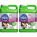 Cat's Pride Fresh Scent Pure & Fresh Multi-Cat Clumping Litter, 10-Pound Jug, Pack of 2