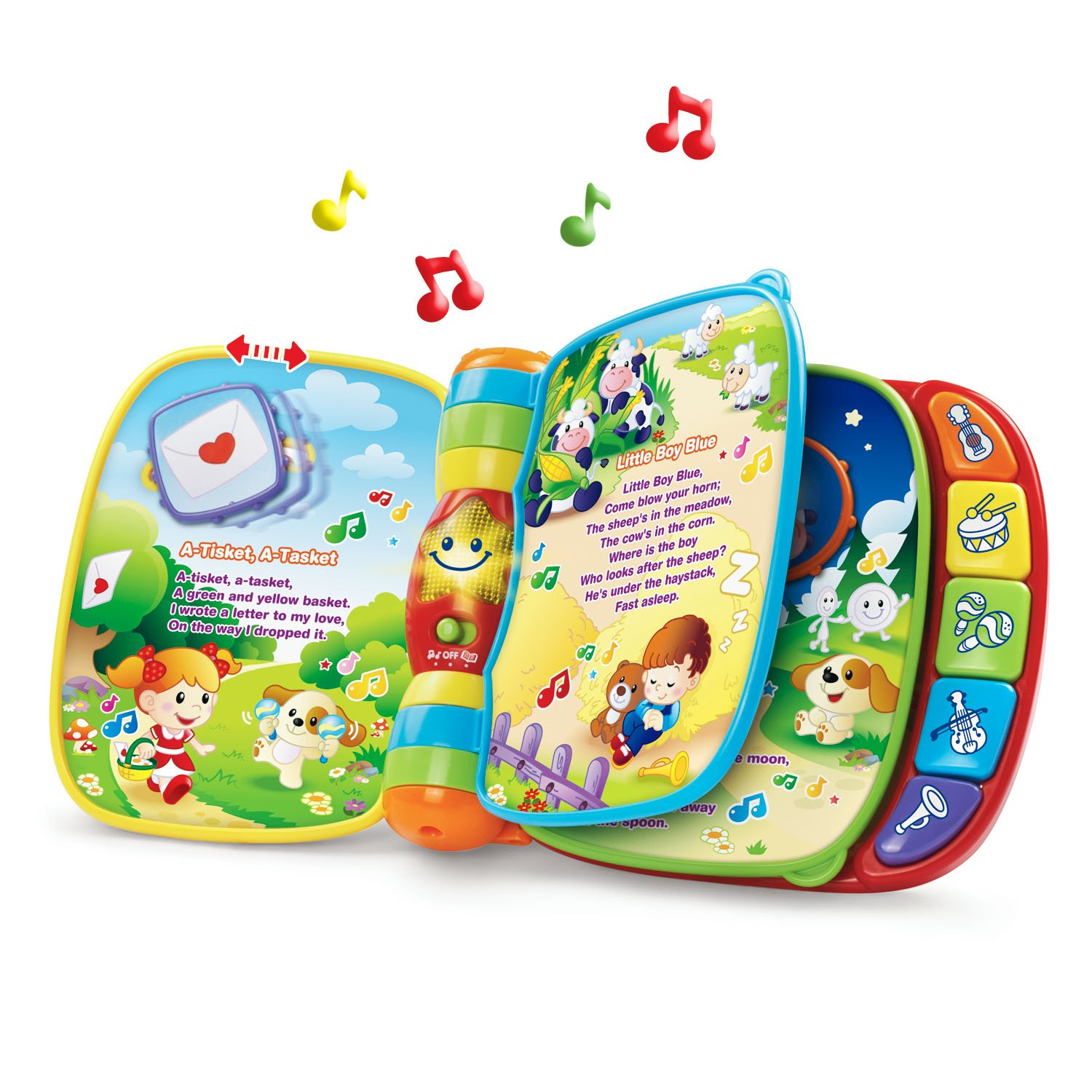 Amazon VTech Musical Rhymes Book Emballage sans frustration