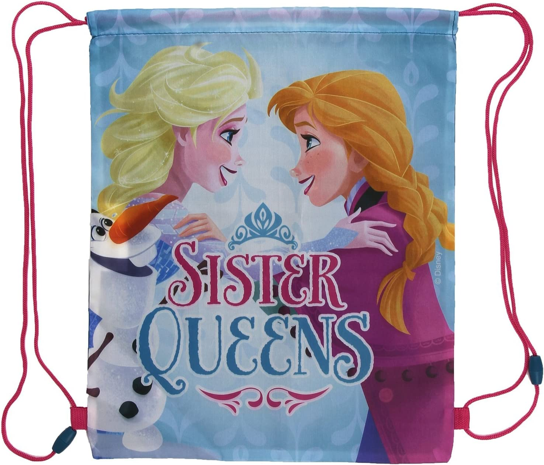 Frozen La Reine des Neiges Sac de gym Sac Sac de sport Anna Elsa neuf