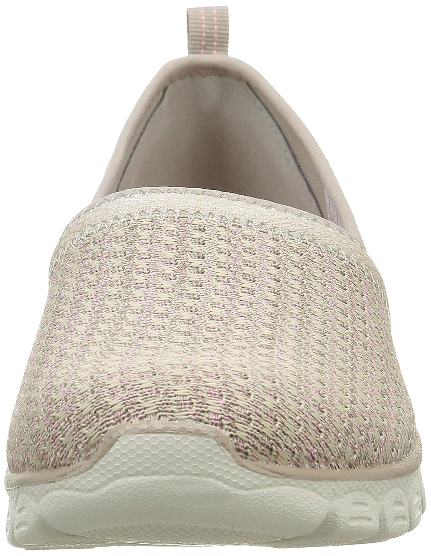 Skechers Women's Ez Flex Big Money Fashion Sneaker B01EOQCPPI 10 B(M) US|Taupe Knit