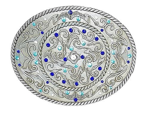 Unbekannt - Hebilla de cinturón - para mujer Azul turquesa Talla única