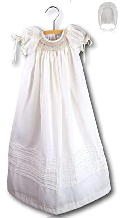 0eacfa372 Amazon.com  Suma Christening Gown Baby Girl Baptism Dedication Dress ...