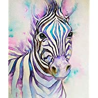 DIY 5D Diamond Painting by Number Kits for Adults,Diamond Embroidery Painting Kits Art Craft Home Wall Decor Colorful…