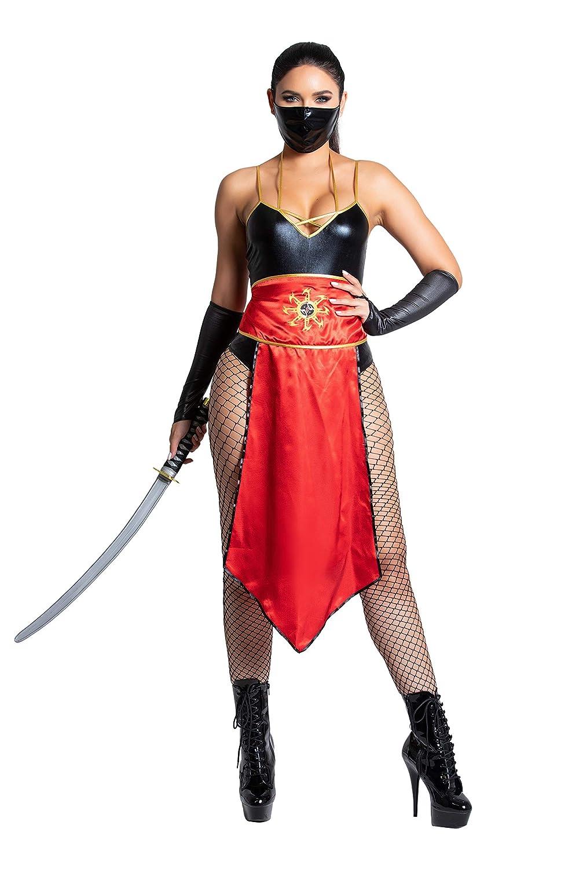 Yandy Exclusive Mystic Darkness Sexy Assasin Cosplay Warrior Ninja Costume