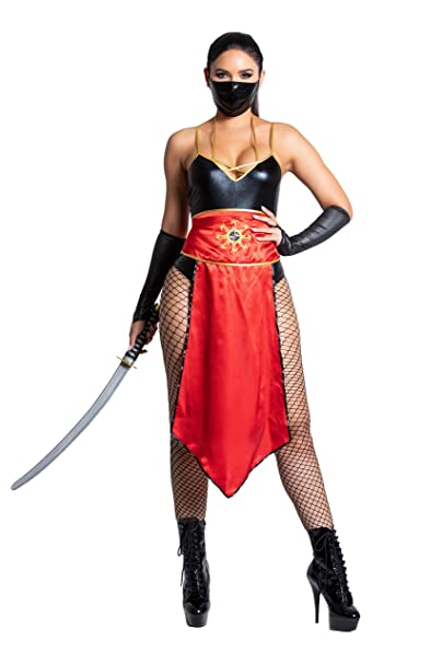Yandy Exclusive Mystic Darkness Sexy Assasin Cosplay Warrior Ninja Costume