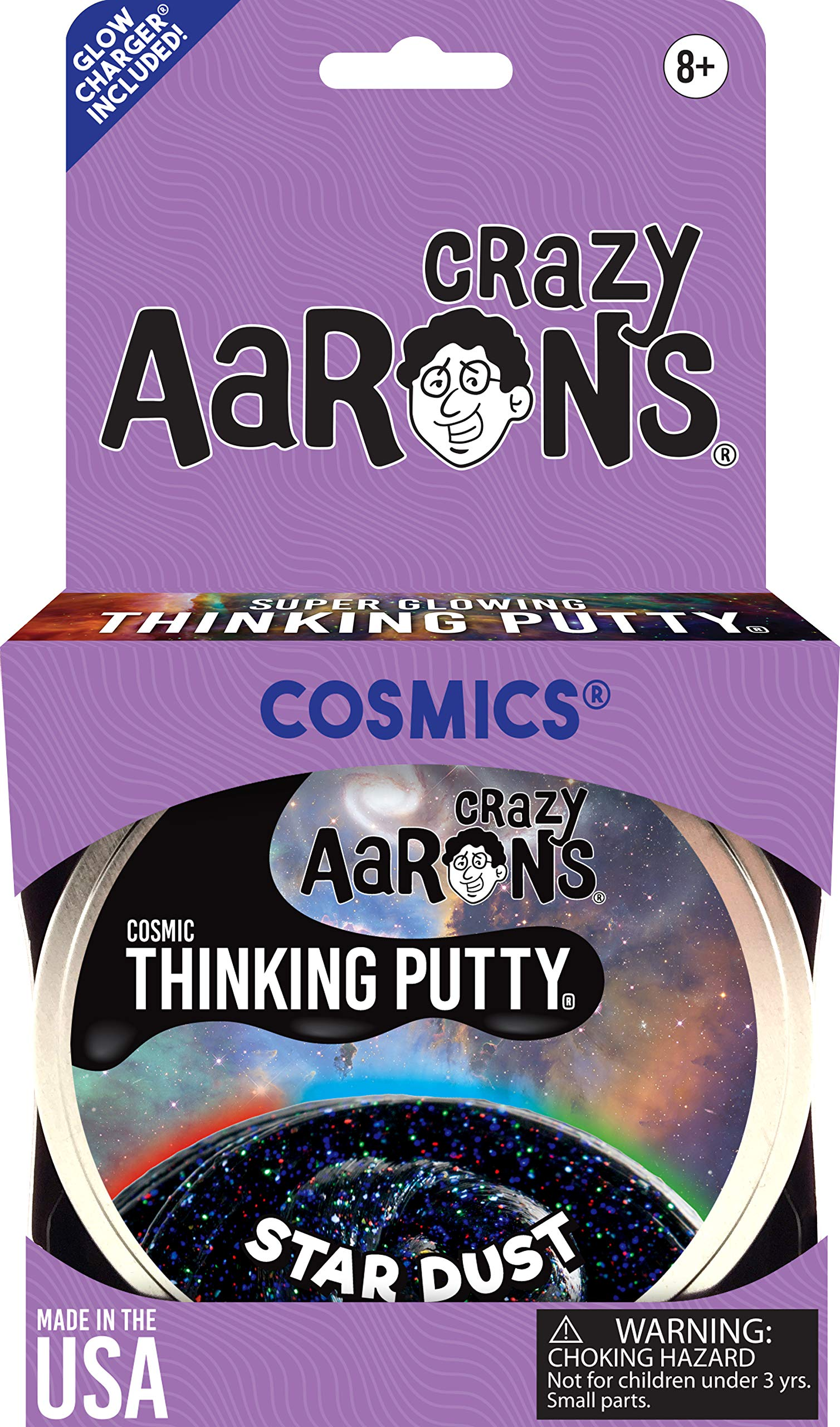 Crazy Aaron's Thinking Putty, 3.2 Ounce, Cosmic Star Dust by Crazy Aaron's (Image #6)