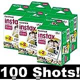 Fujifilm Instax Mini pour 5x 20Film Instax Mini 8, mini 90