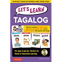 Let's Learn Tagalog Kit: A Fun Guide for Children's Language Learning (Flash Cards, Audio CD, Games & Songs, Learning…