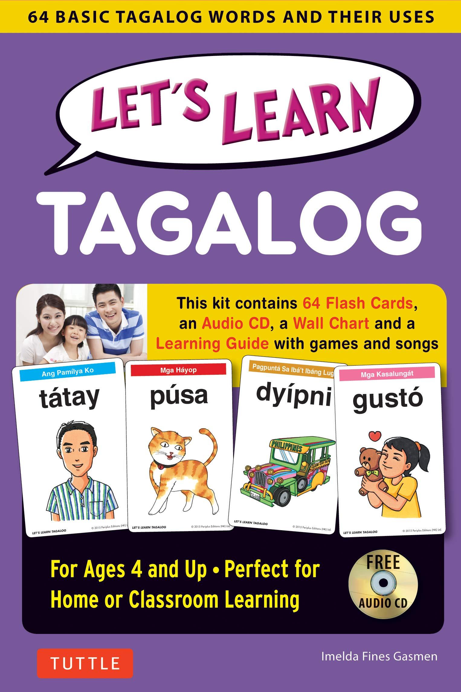 Read tagalog words using basic filipino syllables guide. | tagalog.